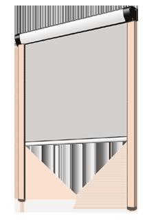 m 1312 m 2312 kassettenrollo sundrape. Black Bedroom Furniture Sets. Home Design Ideas